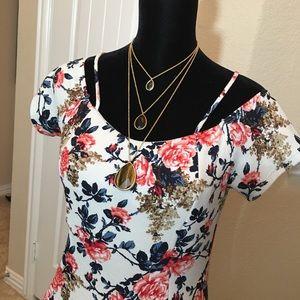 Dresses - Floral Sundress
